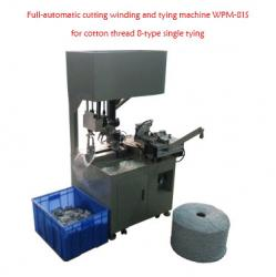 Full-automatic cutting winding and tying machine WPM-81S for cotton thread 8-type single tying